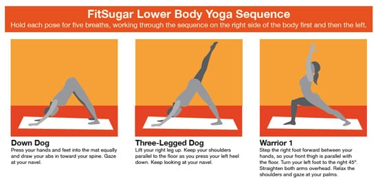 Print It FitSugar Lower Body Yoga Sequence