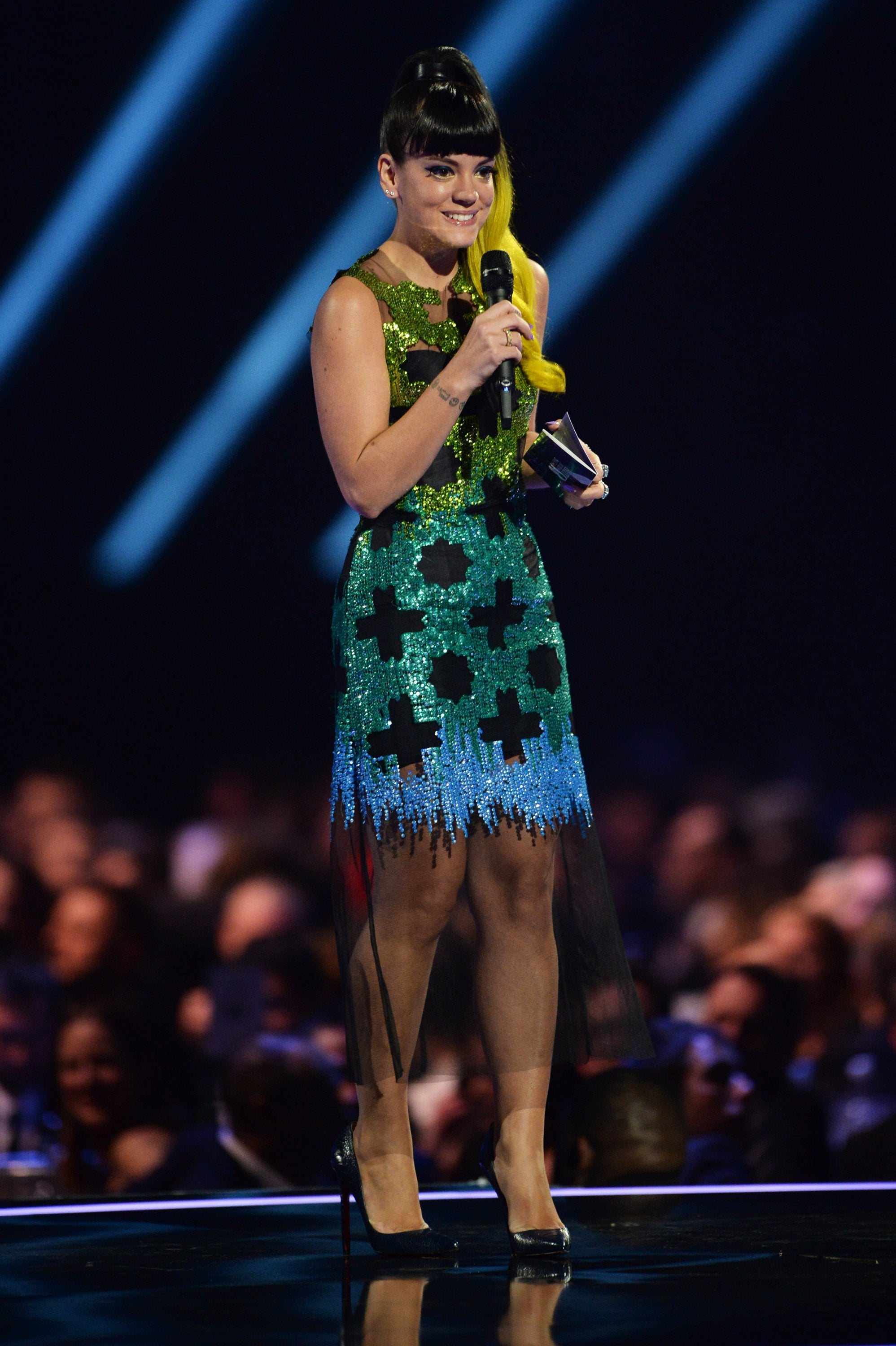 Lily Allen Wore a Dress Straight From the Runway