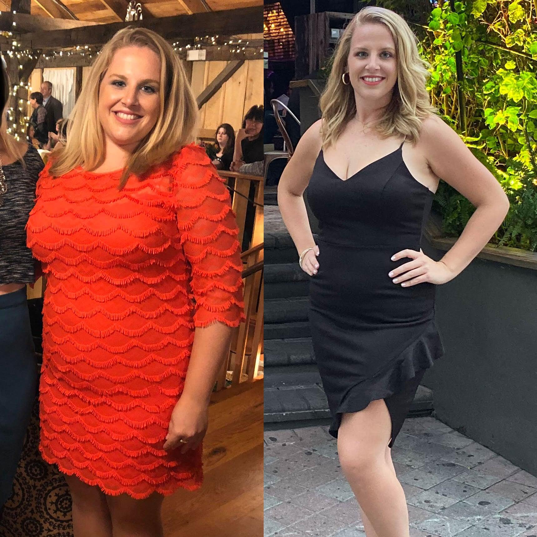 85 Pound Intermittent Fasting Weight Loss Transformation Popsugar Fitness