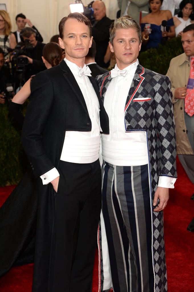 Neil Patrick Harris and David Burtka Haunt the Met Gala