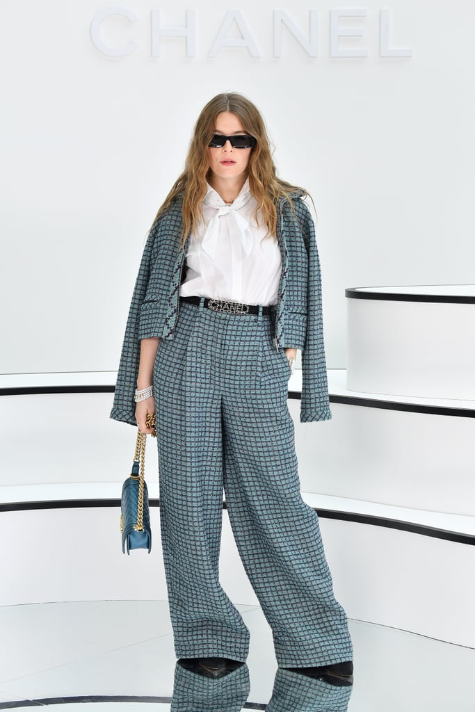 Maggie Rogers at the Chanel Fall 2020 Show