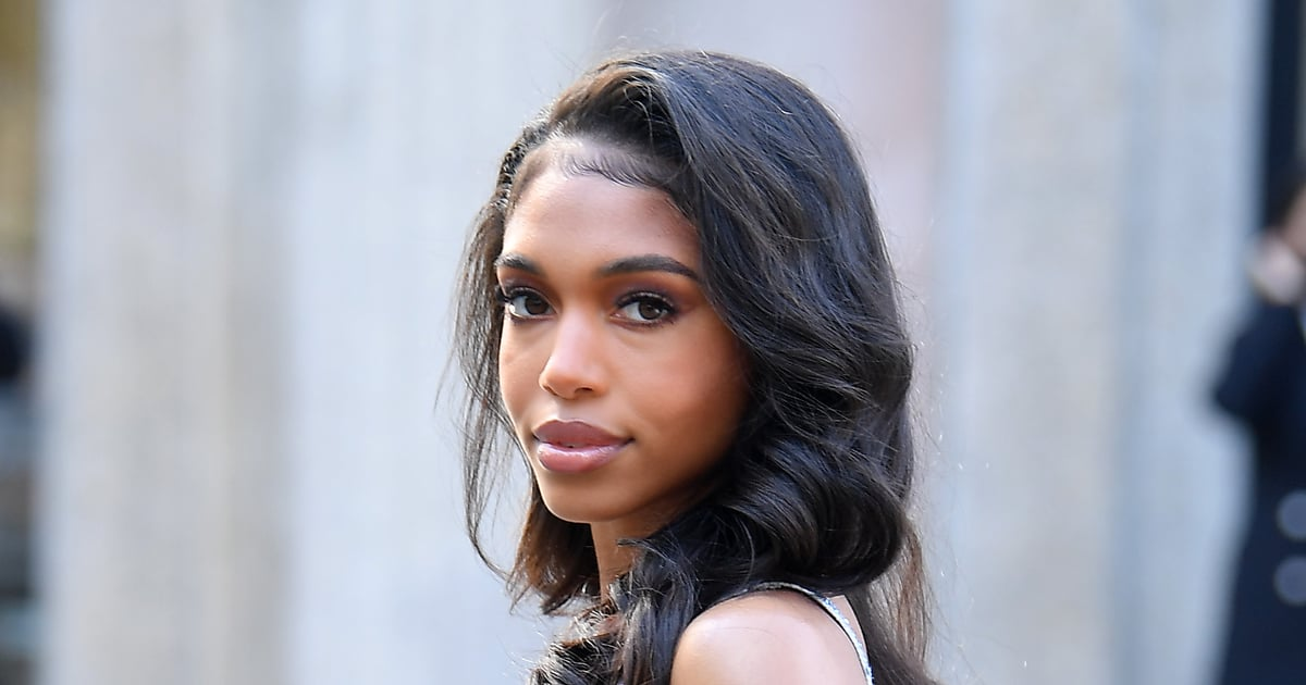 Lori Harvey's Dress Looks Modest From the Front, but My Oh My, Those Hip Cutouts.jpg