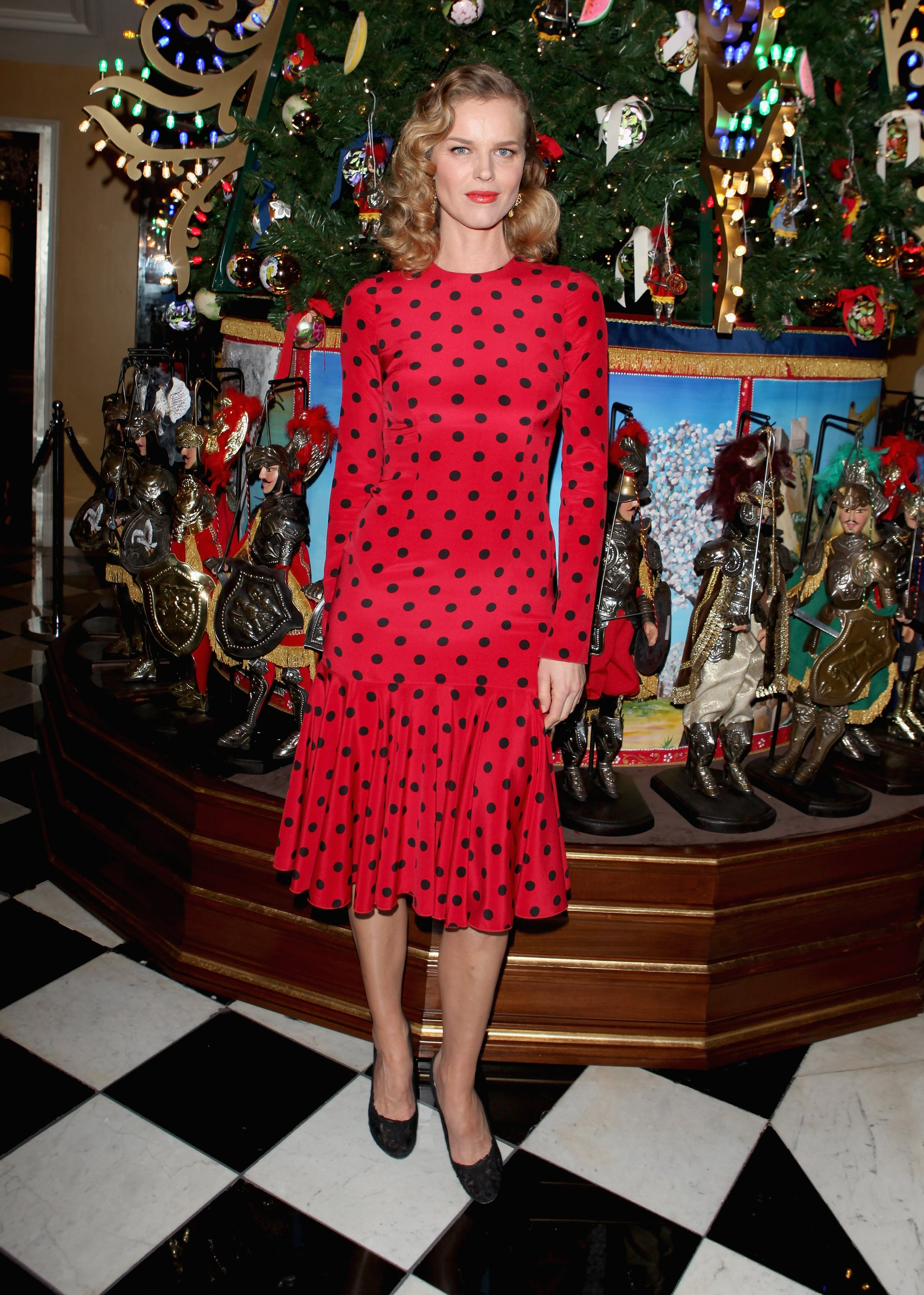 Eva Herzigova At Claridge S Party For Its Dolce Gabbana Style