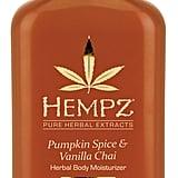 Hempz Pumpkin Spice & Vanilla Chai Herbal Body Moisturizer