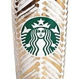 Starbucks® Premium Dot Collection 2015 – Gold Chevron ($30)