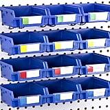Pegboard Bins Hooks to Any Peg Board Organiser