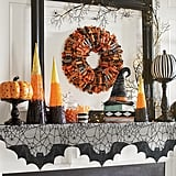 Home Sweet Halloween Mantel