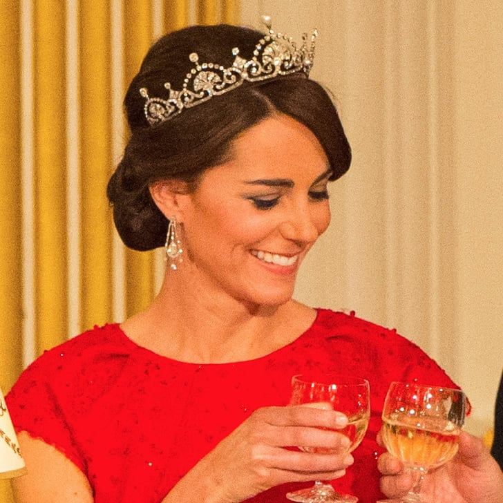 Kate Middletons Updo Hairstyle Fall 2015 Popsugar Beauty