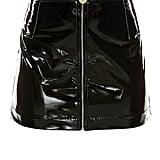 Zip Vinyl Skirt