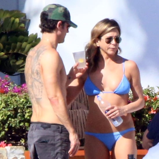 Jennifer Aniston and Justin Theroux in Mexico February 2017