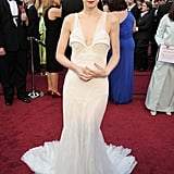 Rooney Mara was in Givenchy.