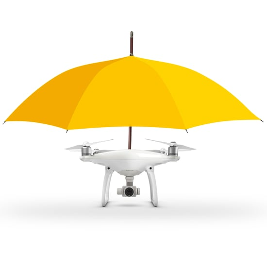 Umbrella Drone Launches in the UK