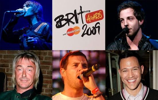 2009 Brit Awards — Best British Male Solo Artist Nominees