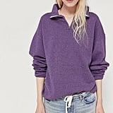 Vintage Overdyed Quarter-Zip Sweatshirt