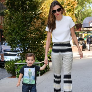 Pictures Of Miranda Kerr And Flynn Bloom In Cap In New York