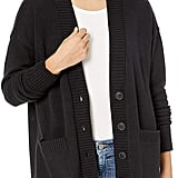 The Drop Carrie Oversized Button Front Cardigan Sweater
