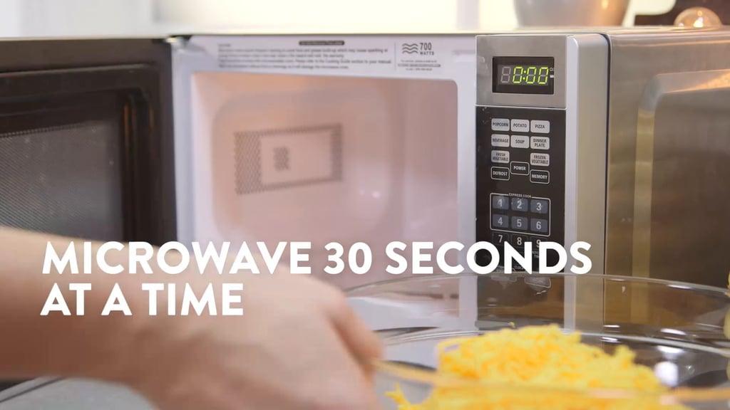 how to unlock microwave oven door