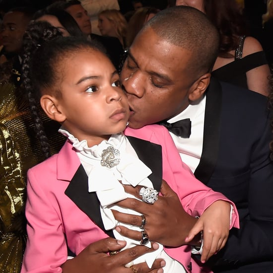Blue Ivy at the 2017 Grammys
