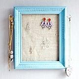 Jewelry Earring Frame Organizer