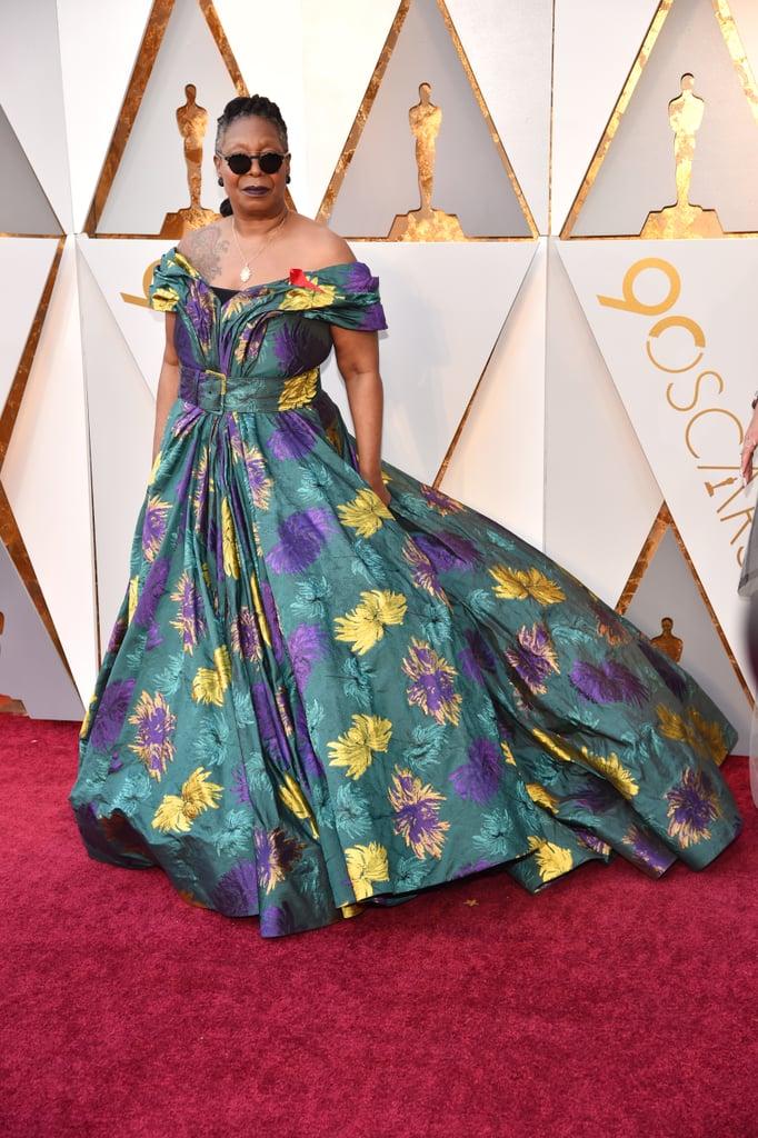 Whoopi Goldberg Oscars Dress 2018