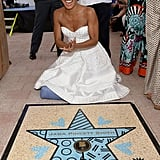 Channing Tatum and Jada Pinkett Smith Miami Hall of Fame
