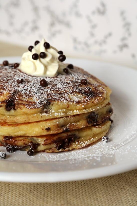 Chocolate chip pancakes popsugar food forumfinder Gallery
