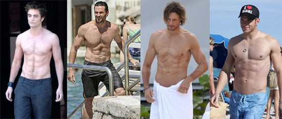 Meet and Vote on Your Shirtless Final Four!