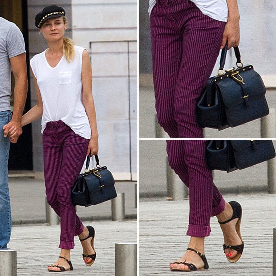 Diane Kruger's Chic Parisian Style — Shop the Look via Shopstyle Australia