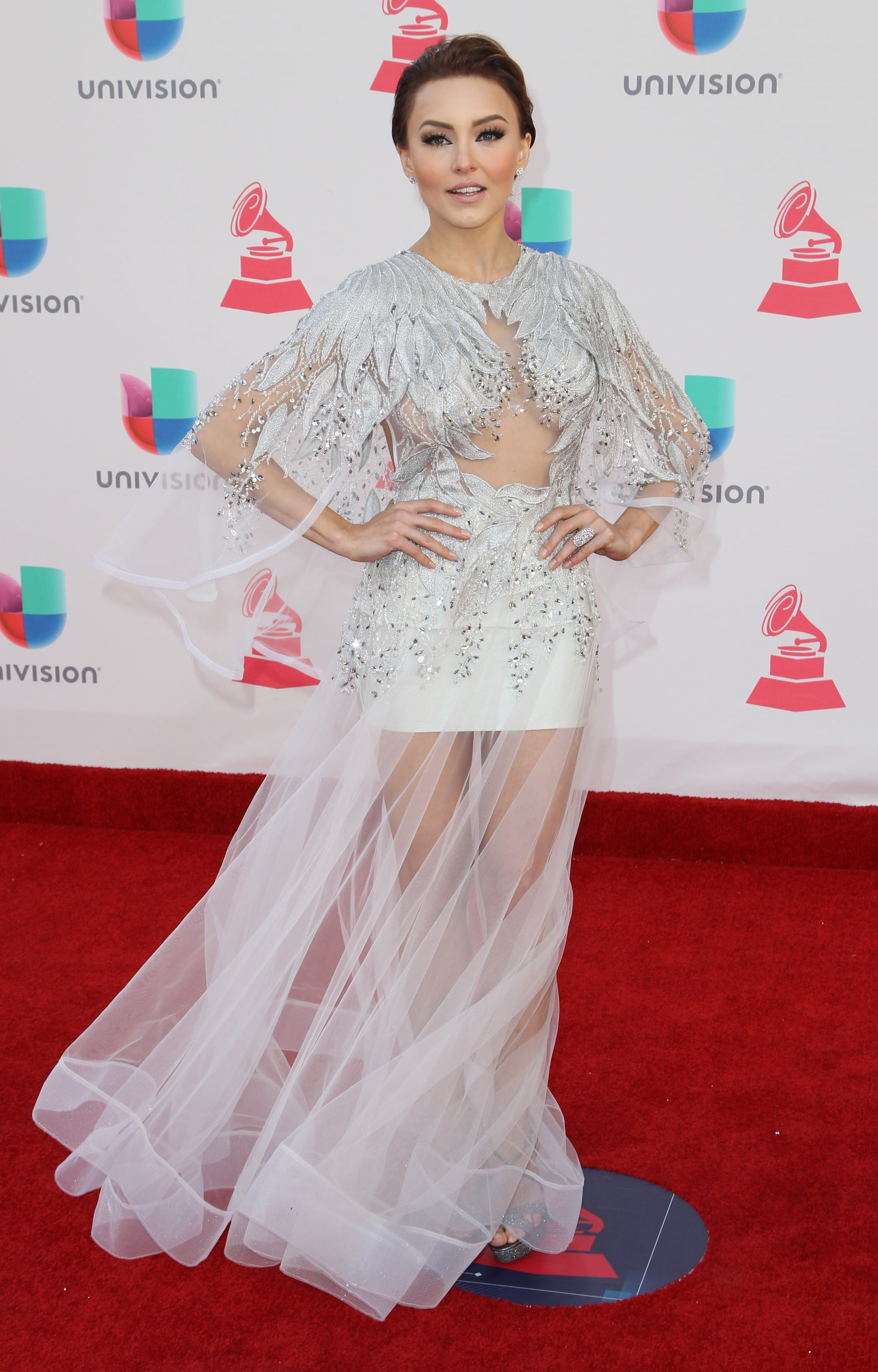 Angelique Boyer angelique boyer | the 2016 latin grammy awards red carpet in