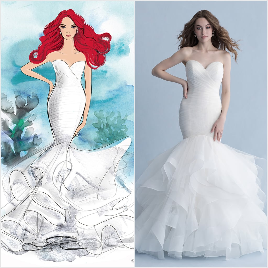 See Every Disney Princess Wedding Dress From Allure Bridals