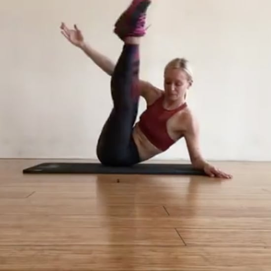 Simone De La Rue's Core Exercises