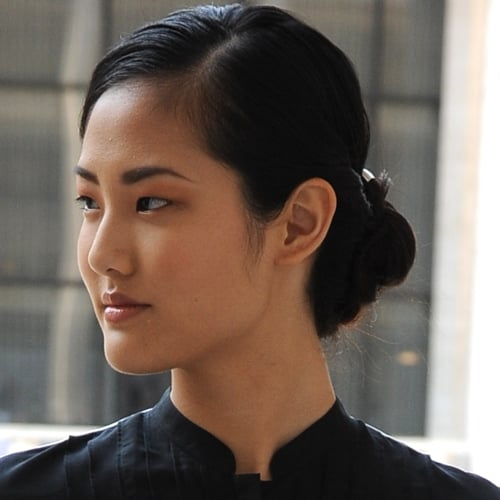 Rachel Roy Spring 2012: Backstage Beauty