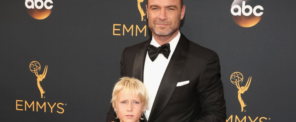 Liev Schreiber Brings Son Sasha as His Date to the Emmys