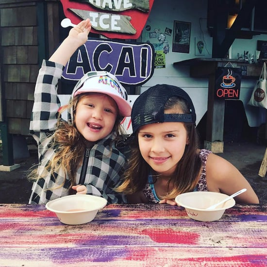 Jessica Alba's Daughters on Vacation December 2016