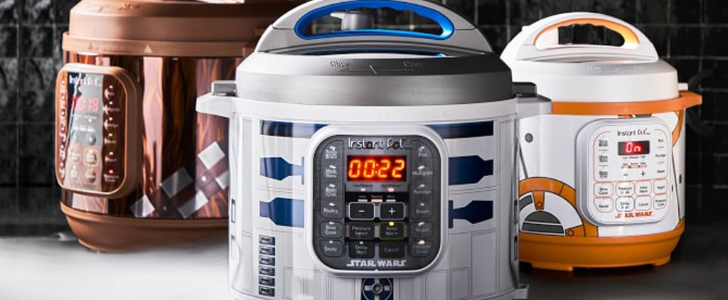 Star Wars BB-8 and R2-D2 Instant Pots at Williams Sonoma