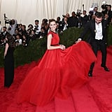Allison Williams in Giambattista Valli at the 2015 Met Gala