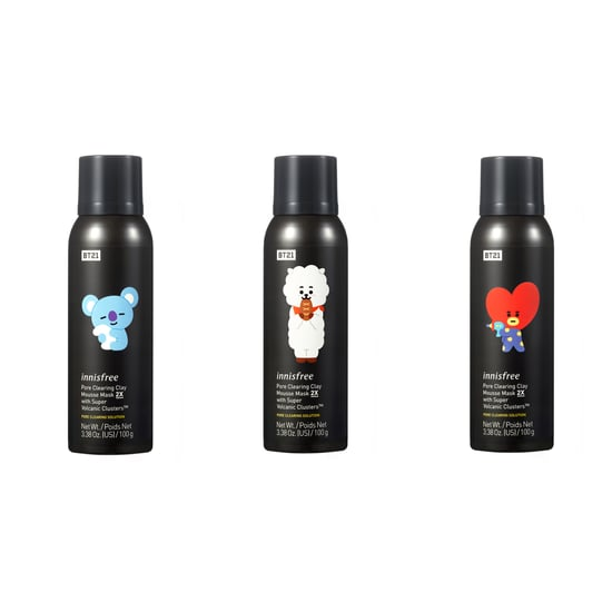 BT21 Innisfree Skincare Products