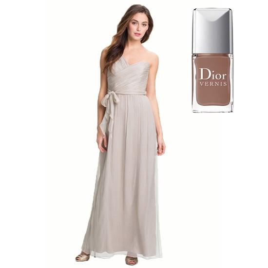 A classic taupe dress, like Dior Vernis Nude ($24).