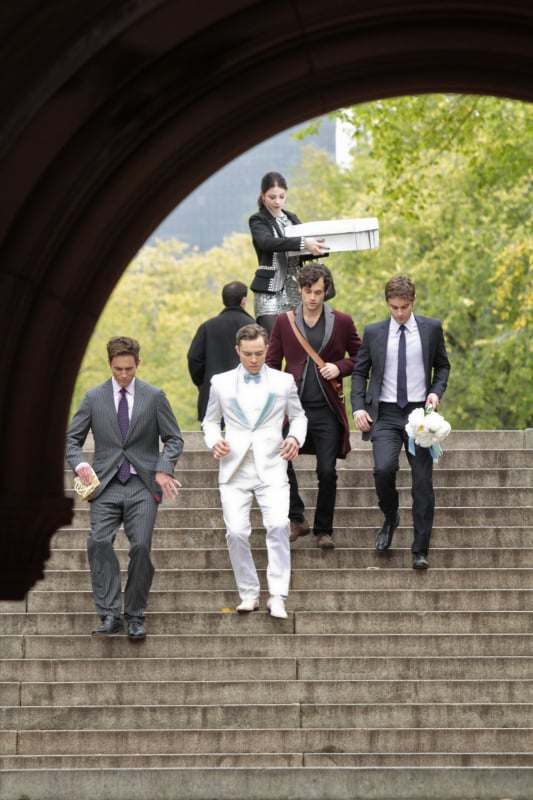 Chuck and Blair's Wedding | Gossip Girl Wedding Pictures ...
