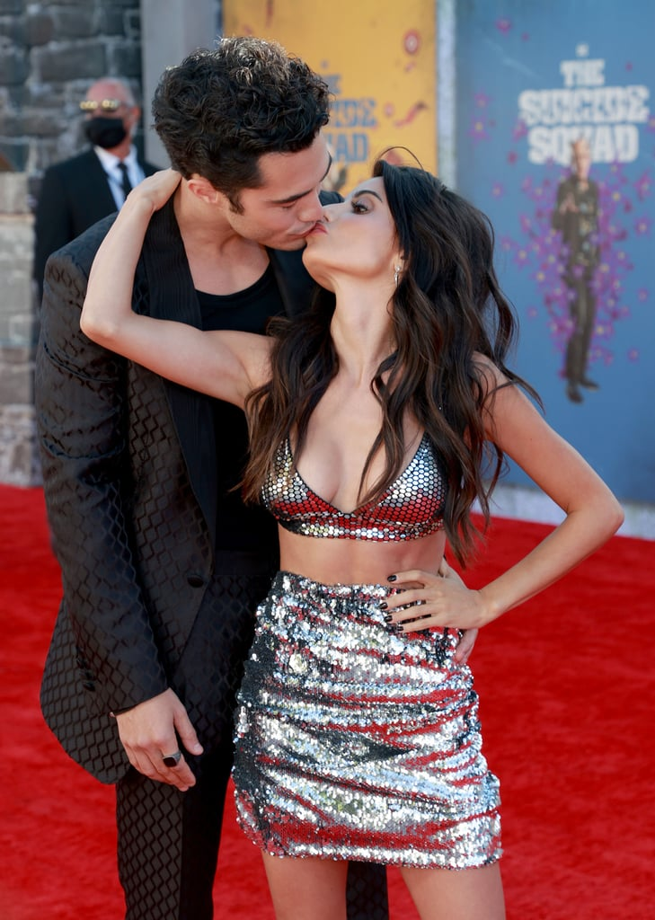 Darren Barnet is going public with girlfriend Mikaela Hoover. On Monday, the 30-year-old Never Have I Ever star and 37-year-old actress made their red carpet debut as a couple at The Suicide Squad premiere in LA. The duo looked all loved up as they posed for the cameras and eventually leaned in for a kiss. While Darren looked sleek in a black suit, Mikaela rocked a two-piece sequin outfit. It's unclear when the pair started dating, but they have slowly been giving us glimpses of their romance as of late. In May, Darren shared a sweet birthday tribute for Mikaela as she celebrated her 37th. They are also set to share the screen together in the upcoming romantic comedy Love Hard, which will premiere later this year. See more pictures of their official red carpet debut ahead.       Related:                                                                                                           Darren Barnet Reveals Whether He's Team Paxton or Ben, and We're Here For His Answer