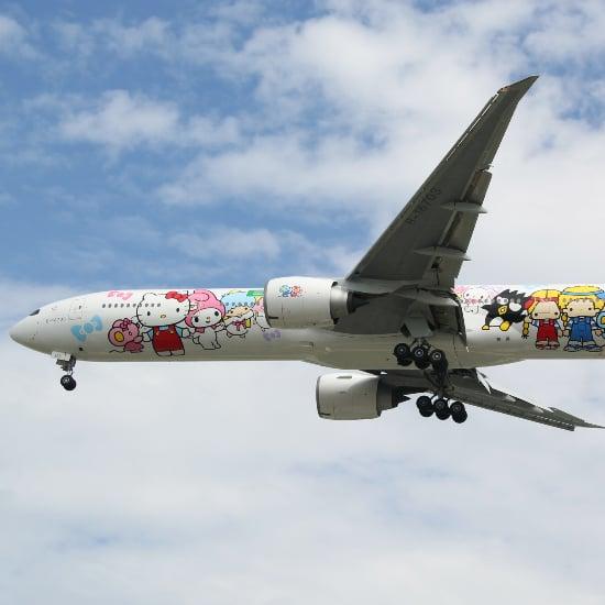 EVA Airs Brochure For The Hello Kitty Flight Experience Reflects