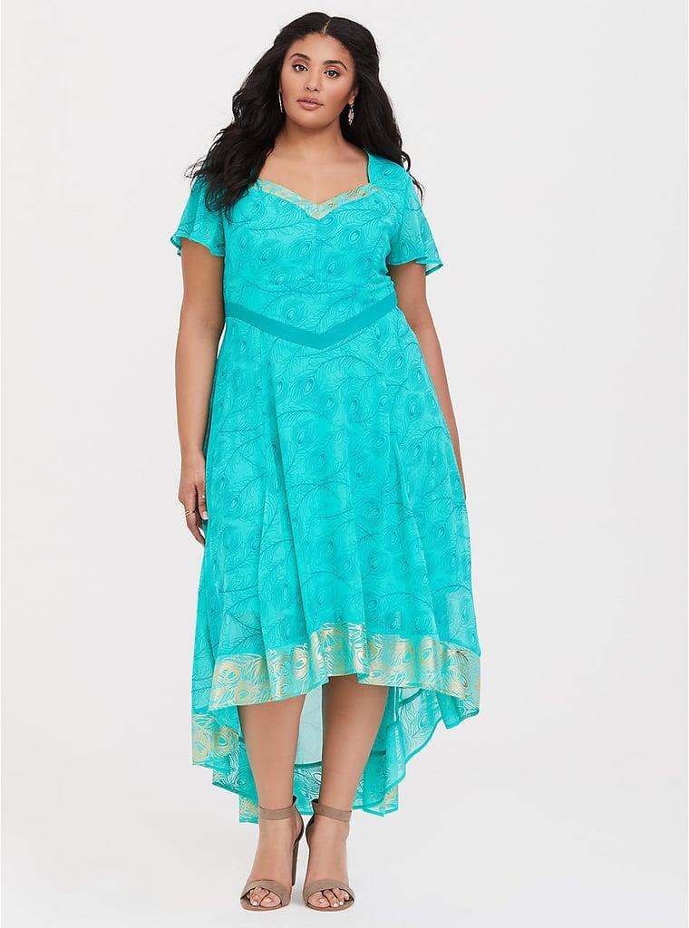 Her Universe Jasmine Peacock Green Dress
