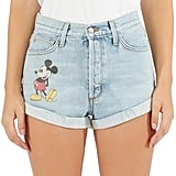 Disney Mickey Mouse Denim Shorts by SIWY
