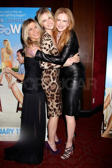 Pictures of Jennifer Aniston, Adam Sandler, Nicole Kidman at Just Go With It NYC Premiere