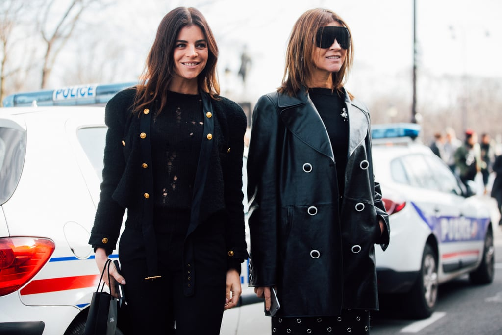Carine Roitfeld and Julia Restoin Roitfeld Best Outfits ...