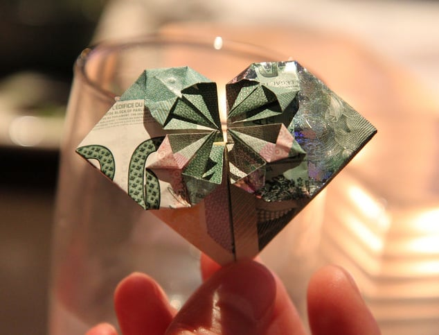 Money Origami Dress - Folding Instructions with Photos & Video | 483x634