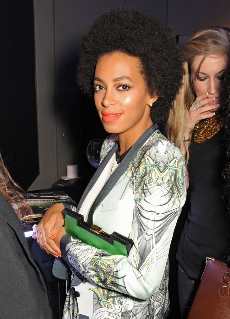 Solange Knowles attended the VIP bash.