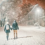 There's Nothing More Magical Than Taking a Walk in the Snow at Night