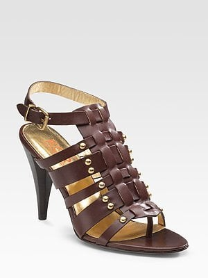 Fab Celebrates Spring With Saks: Win a Pair of KORS Michael Kors Ankle Strap Gladiator Sandals