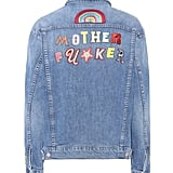Mother The Drifter Embroidered Denim Jacket